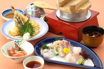 来島定食 1,500円(税抜)